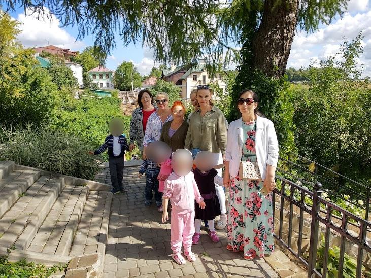 Прогулка по Патриаршьим садам